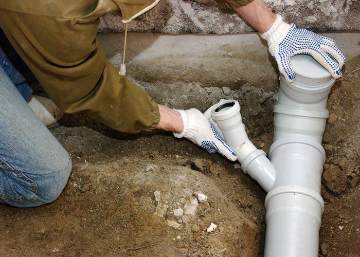 Michigan Grinder Pump Installation Plumbing